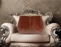 Free Shipping 1pcs New Women's Brown Europe Retro Vintage Shoulder Purse Handbag Totes MST13014