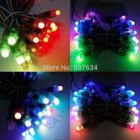 50pcs Full-color RGB led string DC5V IP68 waterproof WS2801 module light led pixel