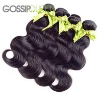 "unprocessed brazilian virgin hair body wave 4 pcs lot free shipping 8""-30"" human hair extension wet and wavy brazilian body wave"
