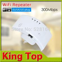 Wifi Router Wifi Repeater 802.11N / B / G computador rede faixa Expander 300 M 2 dBi antenas Signal Boosters sem fio 110 V 220 V(China (Mainland))