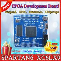 Xilinx fpga core board spartan6 development board surpass spartan3 xc6lx9 core board