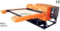 Heat Transfer/Press Machine, 2 In1 Hydraumatic Printer, L1000*W800mm, Print T-shirt, Fabric, Glass, Metal, Ceramic, Wood, Video