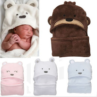 Free Shipping! Lovely Coral Fleece  Spring and Autumn Supernova Sale Blanket Baby Baby Sleeping Bag Winter 5006