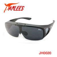 Panlees Flip-up Polarized Sunglasses Gafas De Sol Polarized Sunglasses Men UV400 protection PC frame high impact Free Shipping