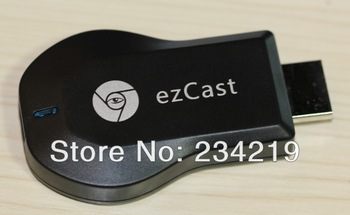 wholesale 10pcs a lot Ezcast miracast chromecast airplay DLNA Google Chromecast HDMI 1080p Internet Streaming Media Player