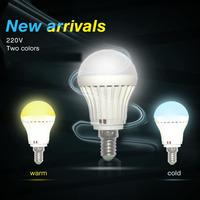 LED bulb lamp  E14 3W 5W 7W 10W 2835SMD 4W 6W 9W 12w15w 5730smdCold white/warm white AC220V 230V 240V Free shipping