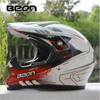 New brand BEON Professional Motocross Helmet off road motorcycle helmet dirt bike helmet racing capacete ECE safe Approved B-600