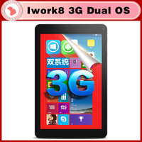 8 inch Windows 8 Tablet Cube IWORK8 cube U80GT dual boot 1280*800 IPS Quad-core 1.8GHz 2GB/32GB Dual Cameras wifi tablet pc