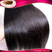 High Quality 6A Virgin Brazilian Straight Hair Natural Color Virgin Hair Extension 1 Bundle Remi Goddess Human Hair Weft Weaving