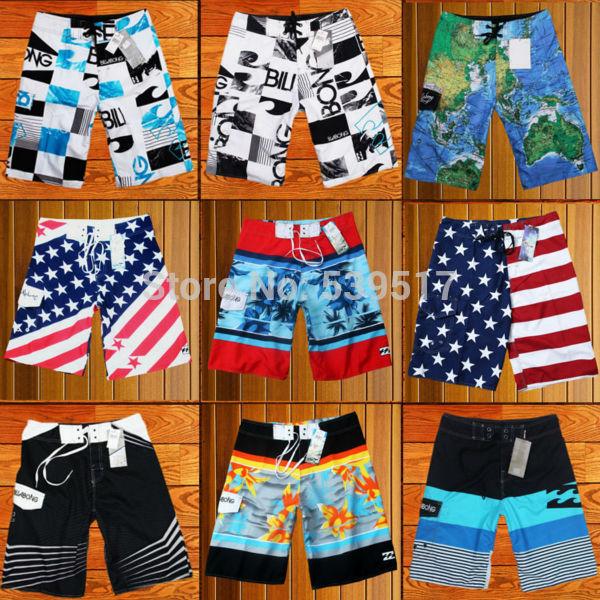 21 Colors Choose billabong New 2014 sports men swimwear Board Surf beach Shorts, shorts Men Beachwear BoardShorts bermuda(China (Mainland))