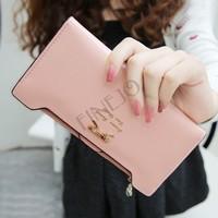 2014 new leather women wallets woman messenger bag women's design wallet change purse for women Drop shipping b9 SV001289