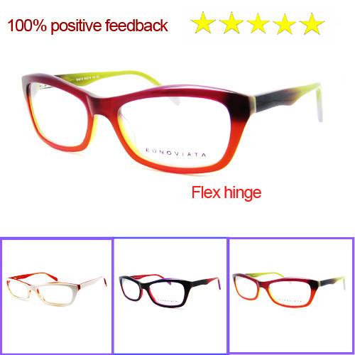 Free Shipping 2014 Hot Sell Women Eyeglasses Frame Acetate Eye Glasses Frame Oculos De Grau Top Fashion Glasses Women B40218(China (Mainland))