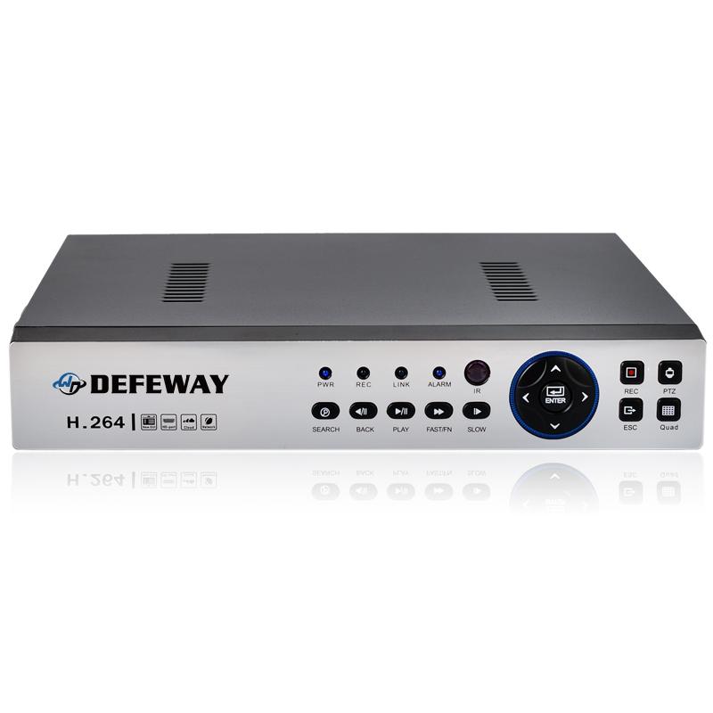 Defeway full 720P 960H surveillance DVR 8CH AHD DVR Real time Recording 8channel Onvif P2P smartphone