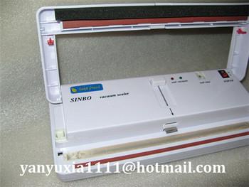 Free DHL/FEDEX Shipping! 100% New 220V/110V SINBO DZ-280 Manual Household Vacuum Packing Machine, Food Vacuum Sealer Machine