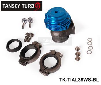 Tansky - TIAL Wastegate/Waste 38MM (red,purple,blue,sliver,black) TK-TIAL38WS-BL ( about 14 PSI) -- Default color is Blue