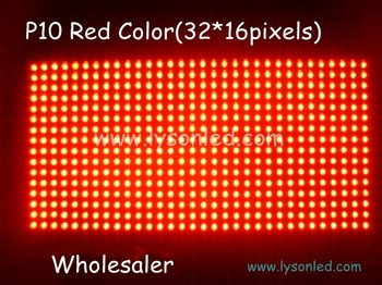 P10 Outdoor Red Color LED Display Module,P10 led module outdoor 30 pcs/ lot