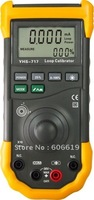 YHS-717 Rechargeable Lithium Battery Accuracy 0.025% Similar to Fluke 707 Loop Calibrator