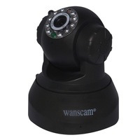 New Pan/Tilt P2P IR Night Vision Motion Detection Wireless WiFi Indoor Home Security Surveillance IP Camera Support 32G TF Card