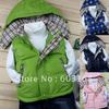 Retail New Style Excellent Fine Green Duck Down Jacket Children's Outerwear[iso-11-8-30-A6]
