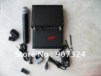 Free shipping Neutral UHF Wireless Microphones SLX24/BETA58 Promotion best price by Fedex/DHL/EMS/Parcel Air Post