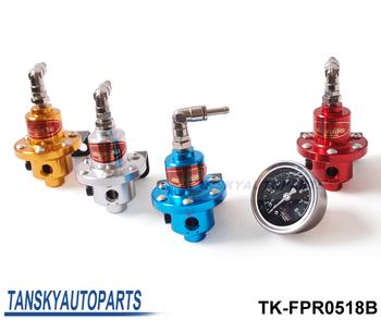 Tansky - SA** Fuel Pressure Regulator /Fuel Regulator With Black Gauge Original box,REAL LOGO TK-FPR0518B