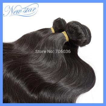 aliexpress new star 3bundles Mixed lengths Malaysian virgin remy human Hair extensions body weave natural dark brown color cheap