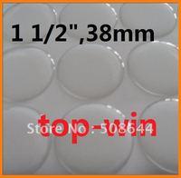"""30 pcs epoxy resin stickers epoxy sticker big circle 1.5"""" 38mm free shipping"""