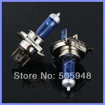 2x Car Halogen Xenon Light Bulb Low Beam H4 12V 60/55W P43T Super White 6000K Free Shipping