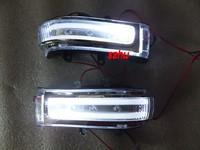 LED Dedicated rear-view mirror lights; light guide lamp + position light  for Toyota Highlander, RAV4,ESTIMA, VOXY, ALPHARD etc.