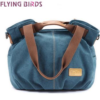 FLYING BIRDS! 2015 Hot Quality Product  Women handbag Shoulder Bag messenger canvas bags Fresh Design Bag free shipping LS5311