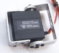 Free shipping 5X Original factory Robot servo RDS3115 Metal gear digital servo Robot servo arduino servo for Robotic DIY 15kg/cm