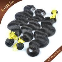 "Wholesale 6A Top quality Virgin Peruvian Hair Extensions,3pcs/lot Mixed 12""-30"",100% natural Body wave Rosa human hair weft"