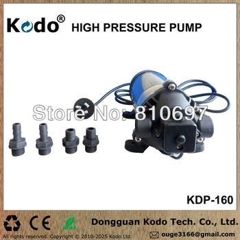 KDP-160 series working voltage AC 110~120V 50/60Hz 160psi 11bar 1.1mpa electric food grade high pressure milk vending pump