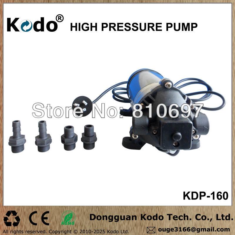 KDP-160 series working voltage AC 110~120V 50/60Hz 160psi 11bar 1.1mpa electric food grade high pressure milk vending pump(China (Mainland))