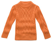 Freeshipping Autumn winter white orange green Children child boy Kids baby knitted sweater top cloth age for 4-13Y PDDB04P07