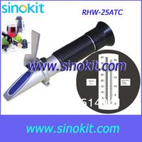 Wholesales Brix/Wine/Oe Refractometer RHW-25brixATC