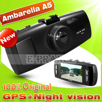 2013 Original GS6000 Ambarella A5S30 a5 Chip Car DVR GPS Cam recorder Full HD 1080P +GPS Logger+G-Sensor+120degree Lens G-Sensor