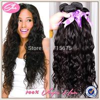 """7A virgin hair brazilian virgin hair 3pcs lot,brazilian hair natural wave 8""""-30"""" natural black human hair extension"""