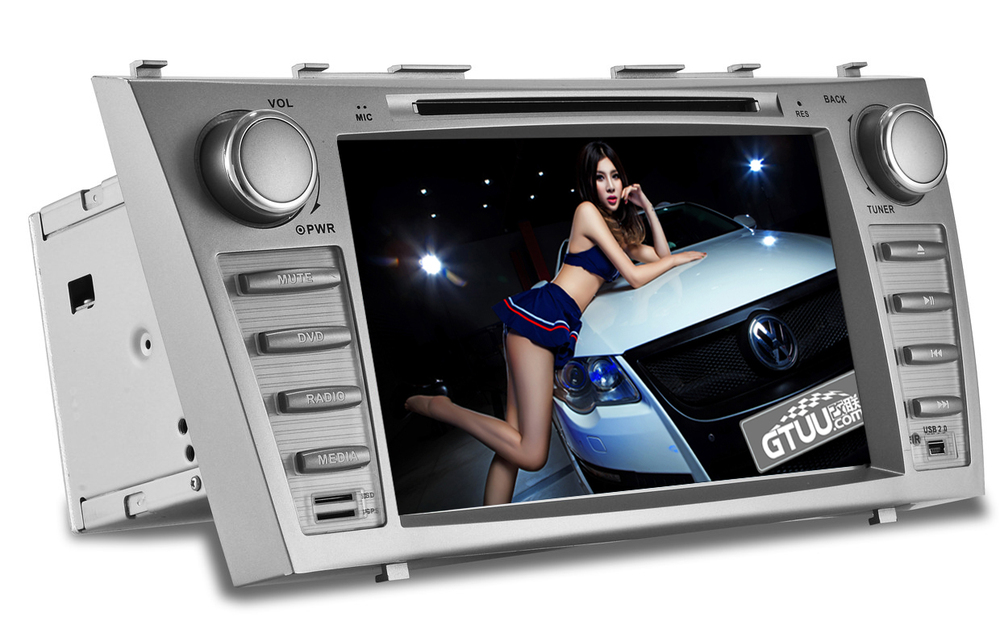 Free Camera+8 Inch Camry CAR DVD Player,Support Bluetooth Free Call/Phonebook,Ipod,TV,Steering Wheel Controller(China (Mainland))
