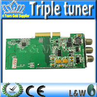 Free Shipping Triple tuner DVB-S/C/T DVB-S(S2)+ DVB-C +DVB-T Three in one for Sunray4 HD SE 800 SR4 and DM 800HD SE
