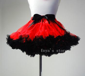Free Shipping Hottest 2-9 Years Princess Girls Fluffy Chiffon Skirts Children's Skirts Baby Kids Tutu Pettiskirt Dance Skirt