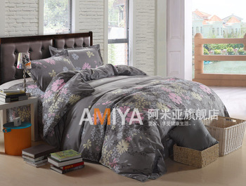 Textile piece set bed sheets duvet cover  cotton bedding princess 4 bedding