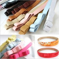 Free shipping ! best selling belt ! women beaustiful thin belt female sweet belt ladies' fashion kindly belt women(China (Mainland))