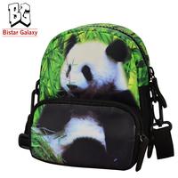Multifunctional animal pattern panda bag waist pack lovely animal printed belt bag cute zipper animal printed waist bag BBP102W