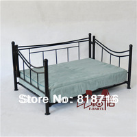 Luxury Dog bed,pet bed for dogs and cats, made of handcrafted in solid wrought iron,with cushionF006S