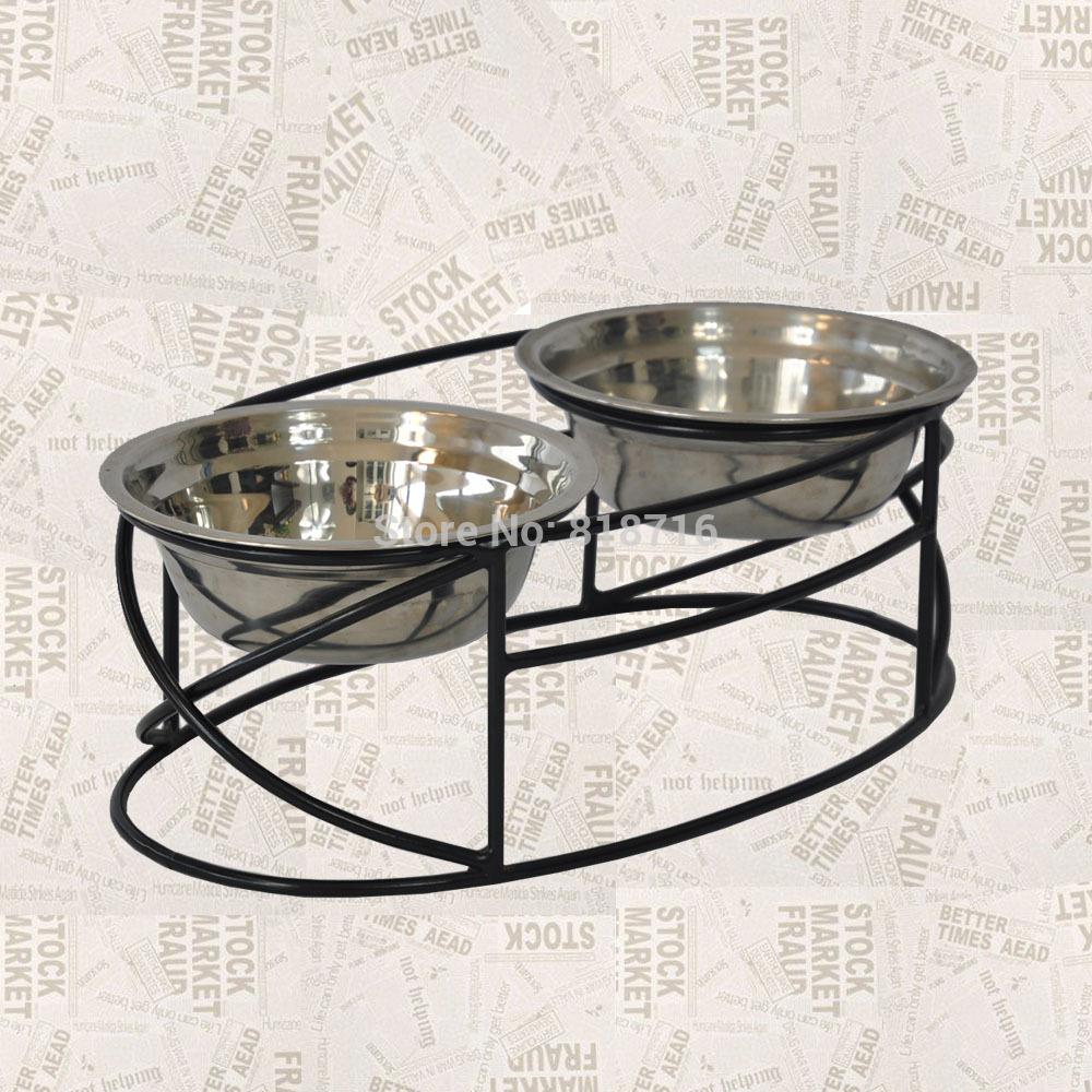 Mental cat feeder,dog feeder ,2013New Design,Wrought Iron Pet feeder ,cat feeder ,dog feederF021(China (Mainland))