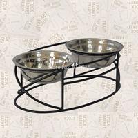 Mental cat feeder,dog feeder ,2013New Design,Wrought Iron Pet feeder ,cat feeder ,dog feederF021