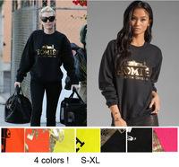 2015 fashion homies print women's men's unisex  jumpersuit sweatshirt S-XL,big size 7 colors