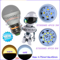 5pcs hot selling  led light High power led e27 2w 3w 5W 7w 9w  12w   2835 SMD AC220V Energy saving office lamp lighting
