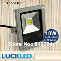 waterproof led flood light 10w AC85~265V1000LM COB chip outdoor lighting,20W,30W,50W,100W outdoor Floodlight Lamp free shipping